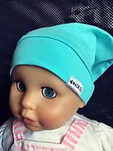 Detské čiapky - Šatka na hlavičku  (Ružová) - 8281898_