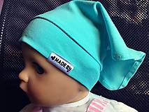 Detské čiapky - Šatka na hlavičku  (Ružová) - 8281899_