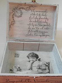 Krabičky - pani učiteľke - 8283758_