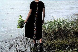 Šaty - Šaty s výšivkou - 8281945_