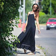 Šaty - Origo šaty minimalizmus volan U - 8283433_