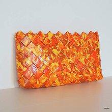 Kabelky - orange kabelka - 8283832_