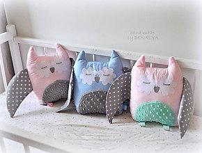 Textil - Sovička z kolekcia Sovička - 8286145_