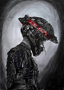 Kresby - motocross - kresba - 8285562_