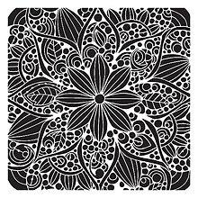 Pomôcky/Nástroje - Šablóna na maľovanie TCW Doodle bloom - 8284417_