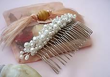 Ozdoby do vlasov - Ozdobný hrebienok - 8285552_