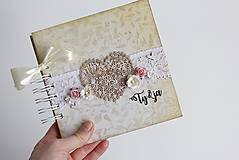 Papiernictvo - Kniha hostí - srdce II - 8284416_