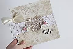 Papiernictvo - Kniha hostí - srdce - 8284422_