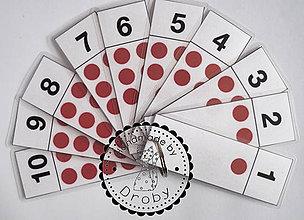 Hračky - flash cards matematika - 8286525_
