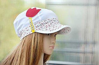 Detské čiapky - šiltovka Tulipán - 8284211_