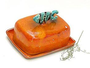 Nádoby - maselnička ryba oranžovej  - 8284929_