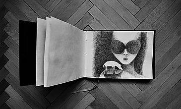 Kresby - Vyhliadka černobie.la - 8284327_