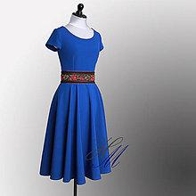 Šaty - Šaty s kruhovou sukňou. - 8284334_