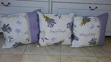 Úžitkový textil - Vankúšiky 3ks ihned k odberu - 8284565_
