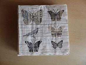 Papier - motýliky - 8286198_