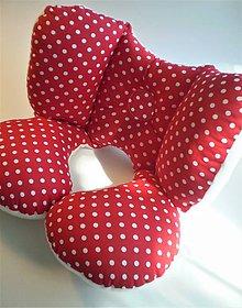 Textil - Cestovný vankúš v tvare motýľa - 8287680_