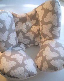 Textil - Cestovný vankúš MOTÝĽ - 8287690_