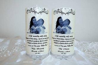 Svietidlá a sviečky - Poďakovanie rodičom - 8287783_