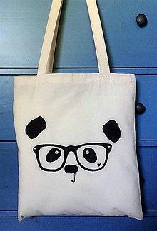 Nákupné tašky - Plátená taška Panda - 8288234_