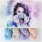 Galantéria - TENDER TEMPTATION - ručne farbená merino vlna - 8286583_