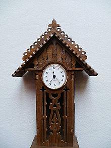 Hodiny - Drevené hodiny Kukučka by také chcela - 8287922_