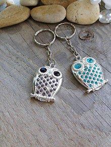 Kľúčenky - Kľúčenka so sovou - 8288279_
