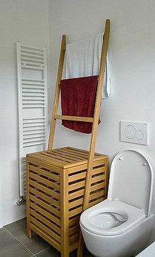 Nábytok - Kôš na pradlo stojan na uteraky - 8287009_