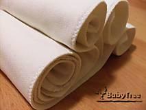 - Hrubá Bambusová vkladačka dlhá 3-vrstvová - 8286967_