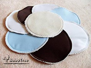 Iné doplnky - BabyTree Mama - prsné vložky pre dojčiace mamičky 4 páry - 8287074_