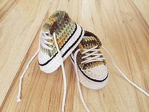 Topánočky - Maskáčové tenisky - 8289456_