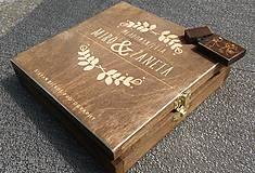 Krabičky - Krabička na foto a USB - 8290144_