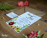 Papiernictvo - Svadobné oznámenie 27 - 8289968_