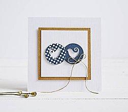 Papiernictvo - Pozdrav svadobný - Vtáčiky II - 8290001_