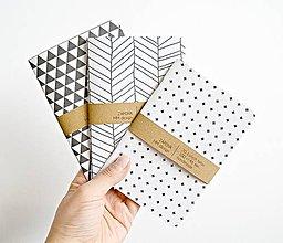 Papiernictvo - 3 zápisníky \