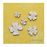 - Výrez Jar prichádza - kvetiny malé, 5ks - 8290262_