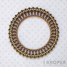 Polotovary - Výrez Mandala - mandala mini - 8290309_