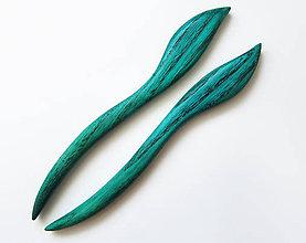 Ozdoby do vlasov - Drevené ihlice do vlasov - 8290582_