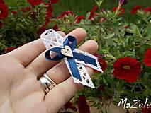 - Svadobné vintage pierko malé pre hostí XII. - 8288882_