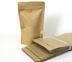 Obalový materiál - Papierové vrecúško na zip - 8288825_