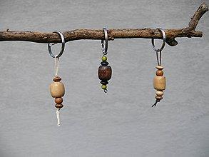 Kľúčenky - Natur prívesky na kľúče - 8290348_