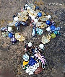 Náhrdelníky - Vládneš sama sebe- luxusný náhrdelník - 8289850_