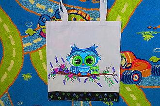 Kabelky - ručne maľovaná taška - 8290464_