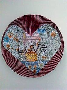 Dekorácie - Dekorativny tanier..... - 8288872_