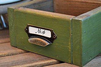 Nábytok - Taká malá zelená debnička... - 8288430_