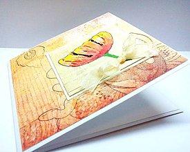 Papiernictvo - Pohľadnica ... Tulipán - 8293237_