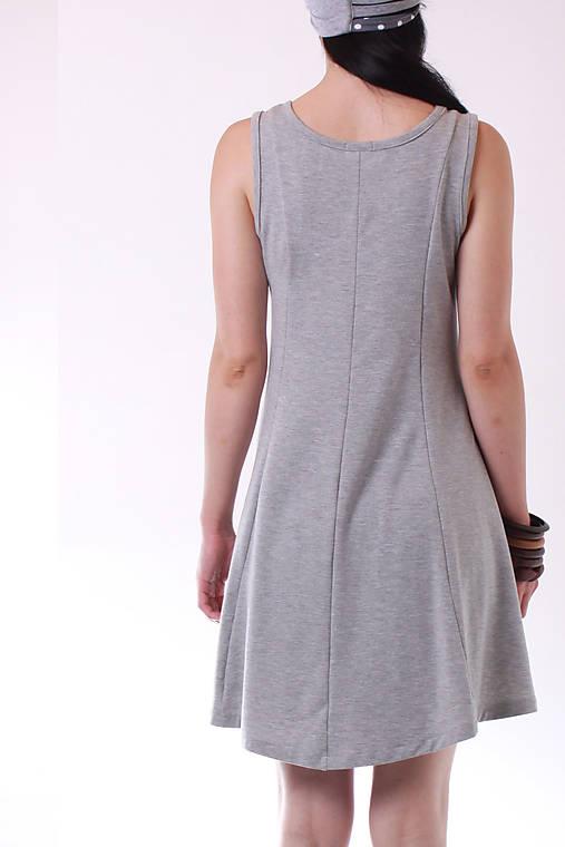 f7a2452015 ZĽAVA MIESTNe tielko šaty (gray)   LOCO - SAShE.sk - Handmade Šaty