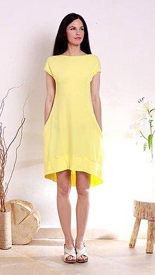 Šaty - MIESTNe midi oversized šaty (yellow) - 8294026_