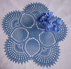 Úžitkový textil - Modré hortenzie - 8292985_