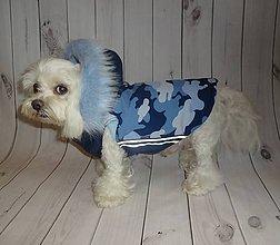 Pre zvieratká - Softshellová zimná vesta - 8293891_