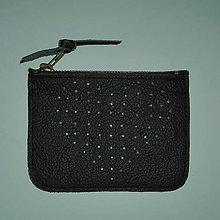 Peňaženky - Na přání srdíčková s přepážkou - 8294557_